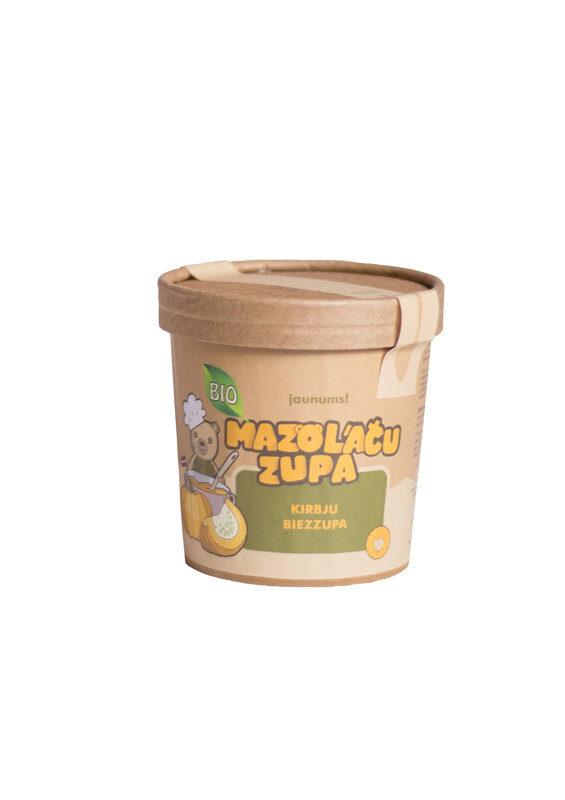 """""""Mazo lāču zupa"""" ķirbju biezzupa, 12m+, 30 gr."""