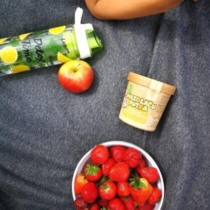 ..ērti lieto piknikā..
